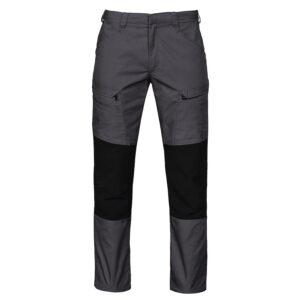 Midjebyxa stretch 2520 grå/svart