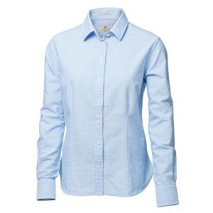 Skjorta Rochester dam ljusblå